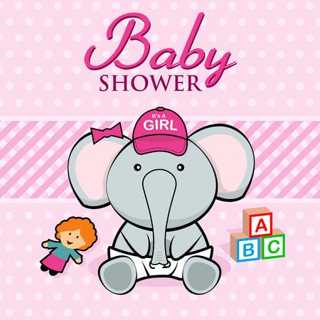 cute baby girls: Baby Shower