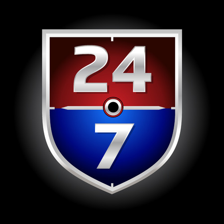 247 Time Symbol