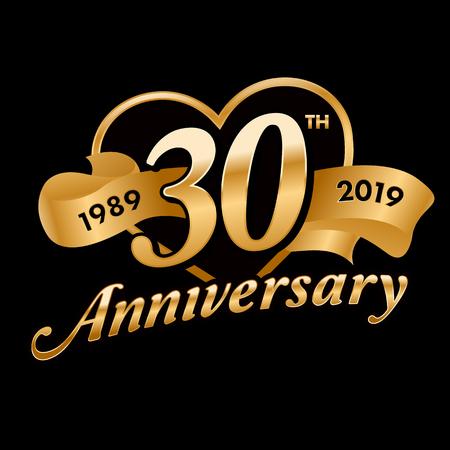 30th Anniversary Symbol