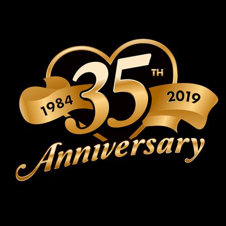 35th Anniversary Symbol