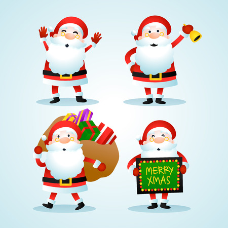 Santa Claus Christmas Set