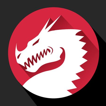 Dragon Flat icon