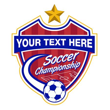 Soccer Logo Championship template