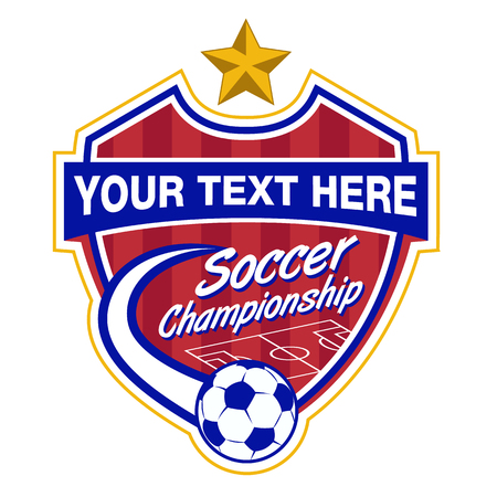Soccer Logo Championship template