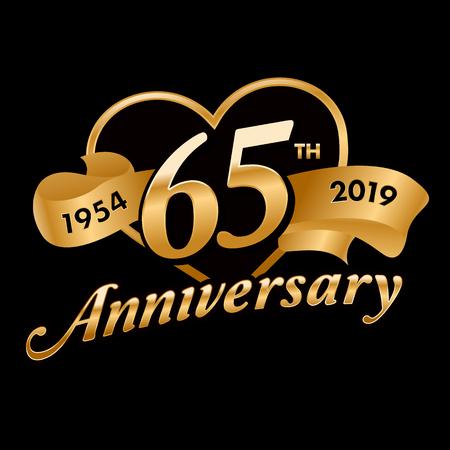 65th Anniversary Symbol