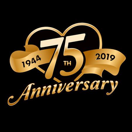 75th Anniversary Symbol