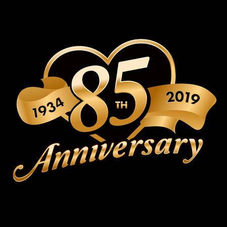 85th Anniversary Symbol