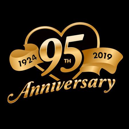 95th Anniversary Symbol