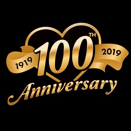 100th Anniversary Symbol