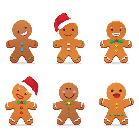 volto uomo: Gingerbread uomo