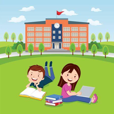 student life: College campus life