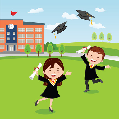 jump for joy: Graduation day