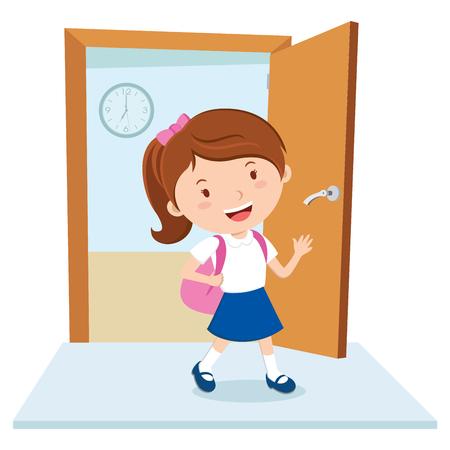 School girl Illustration