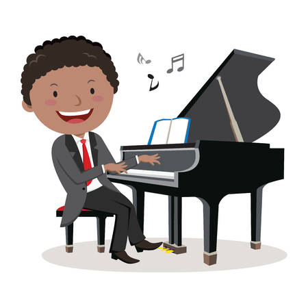 piano player: Pianist. Piano player.