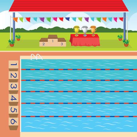 recreation: Swimming pool