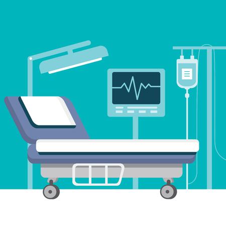 Enfermaria Ilustración de vector