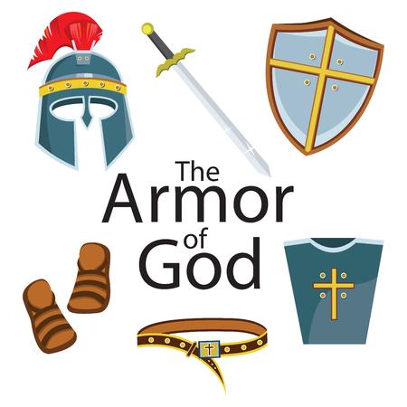 Knight armor element 일러스트