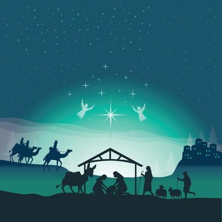 Boże Narodzenie Szopka.