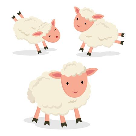 Little lamb Ilustrace