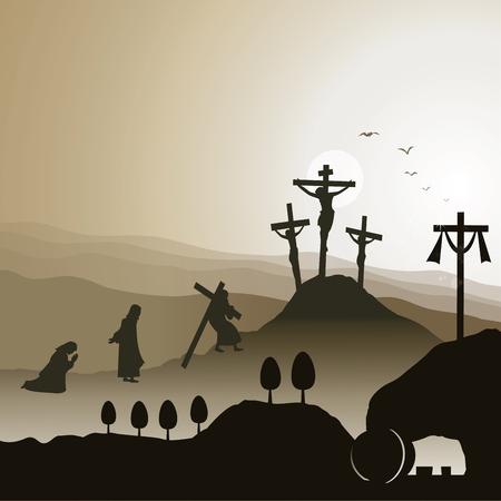 Crocifissione e risurrezione di Gesù