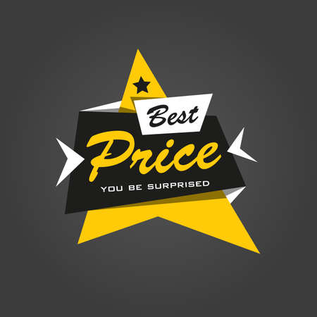 price tags: Special offer sticker. Promotion tag. Price labels. Sale limited offer banner. Advertisement template. Limited Discount Illustration