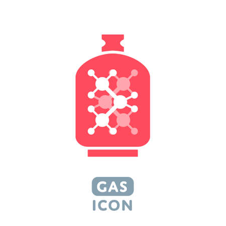 propane gas: Vector Liquid Propane Gas icon Illustration sign symbol design