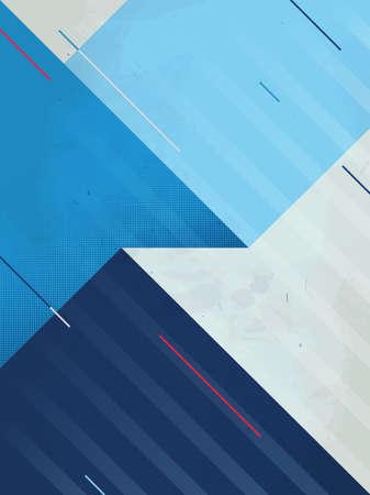 fondos azules: Resumen de vectores de fondo. textura del grunge. patrón geométrico triángulo Vectores