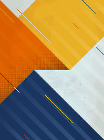 Vector Abstract Background. Grunge texture. Triangle geometric pattern Illustration