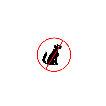 osh: No sign prohibiting dogs (dogs, dog, signs)
