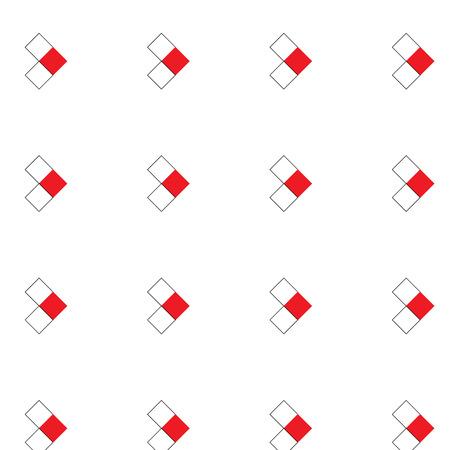 A seamless forward arrow pattern on white background.