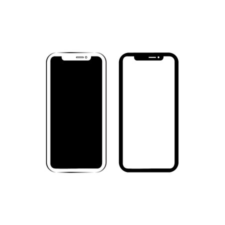 Phone vector icon Ilustrace