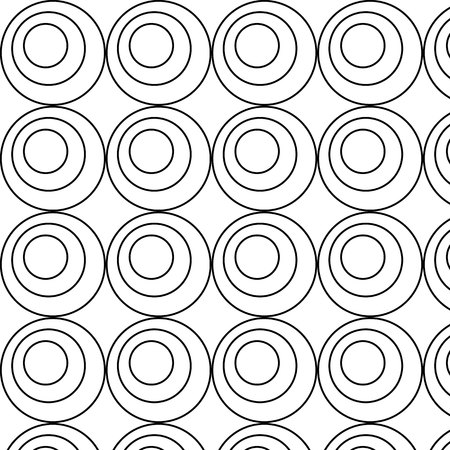 Circle pattern vector illustration
