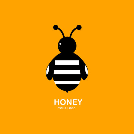 Bee sign for logo.