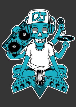 baile hip hop: Cráneo DJ