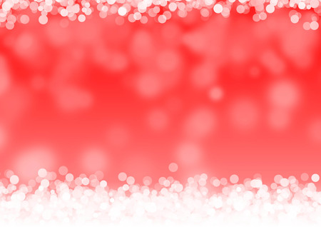 Red bokeh background abstract blur design