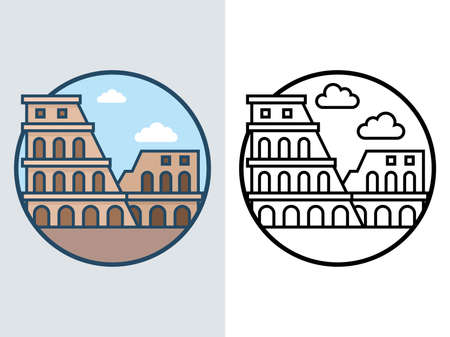 World famous building - Colosseum