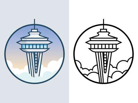 World famous building - Seattle