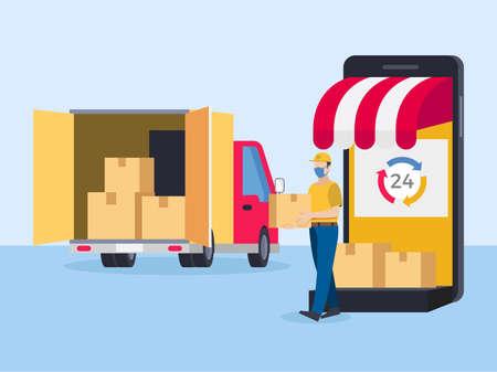 Same day delivery online shop
