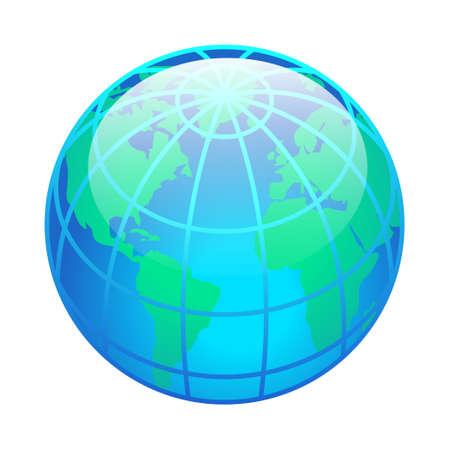 World - Isometric 3d illustration.