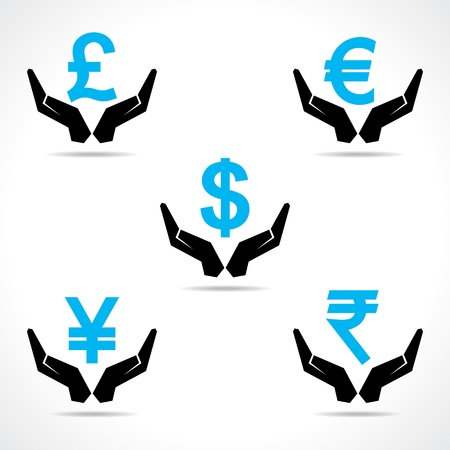 Save money concept vector Vector
