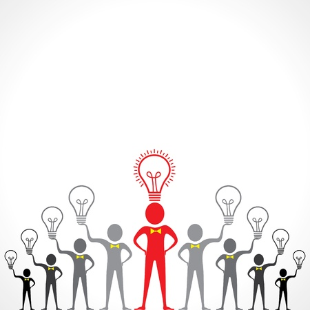 filament: Idea concept with bulb stock vectorIdea concept with bulb stock vector Illustration