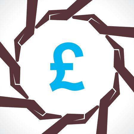 Save money concept - vector illustration Stock Vector - 21267733