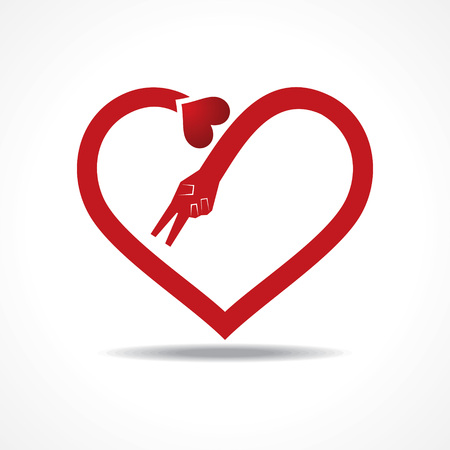 20,549 Simple Heart Shape Stock Vector Illustration And Royalty ...