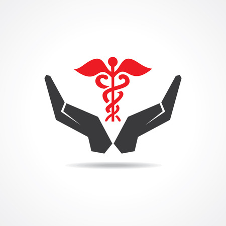 chiropractor: save life concept stock vector