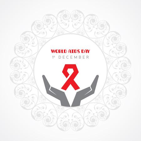 relaciones sexuales: Día Mundial del SIDA - concepto sensibilización sobre el VIH
