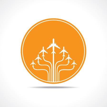 tourismus icon: Tour-und Tourismus-Symbol stock vector Illustration