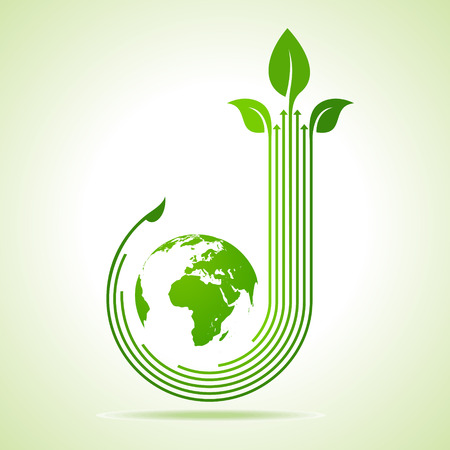 earth moving: Ecology Concept business concept