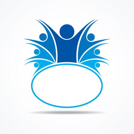 ビジネス チームワークの概念株式ベクトル
