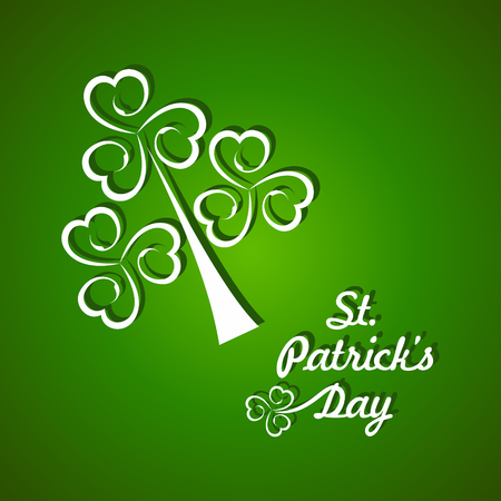 Vector Illustration of Saint Patricks day design Vector
