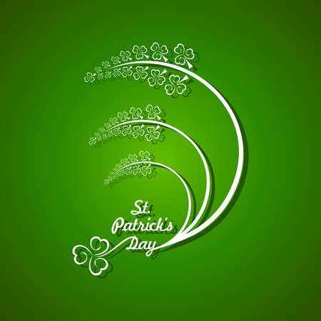 17th march: Vector Illustration of Saint Patricks day design